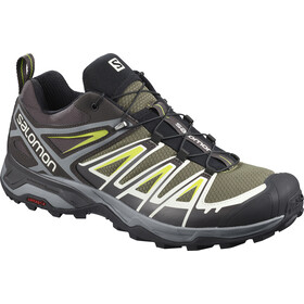 Salomon X Ultra 3 Schoenen Heren, burnt olive/shale/acid lime